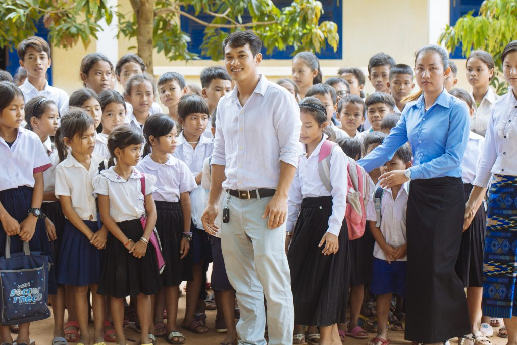 Education for children in Cambodia