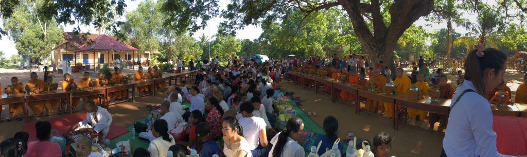Khmer New Year celebration